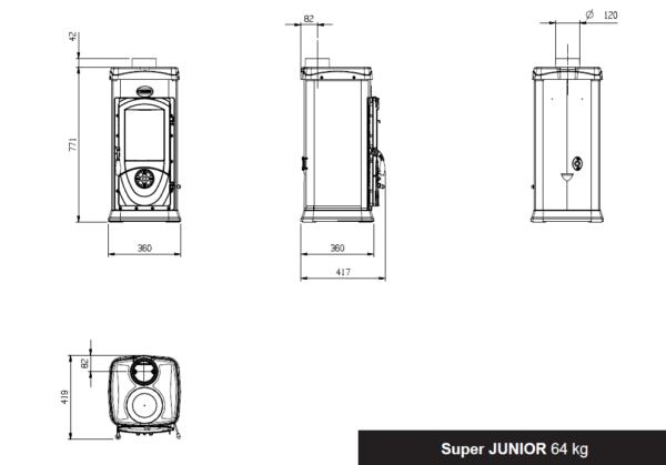 Super Junior - Musta (keittolevyllä)
