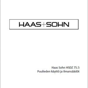 Haas+Sohn 75,5 - käyttöohje