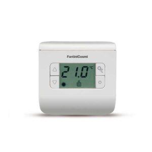 Huonetermostaatti jäähdytys/lämmitys näytöllä